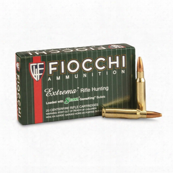 Fiocchi Extrema, .308 Win., Hpbt, 165 Grain, 20 Rounds