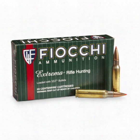 Fiocchi, Extrema, .308 Winchester, Sst, 150 Grain, 20 Rounds