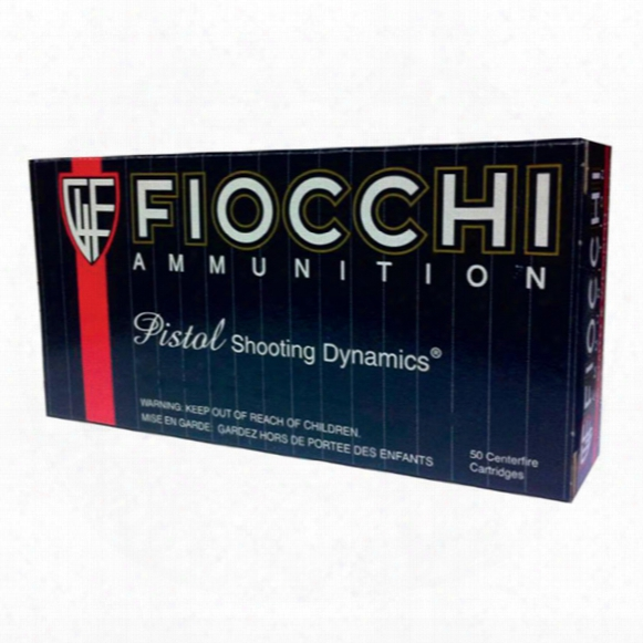 Fiocchi Shooting Dynamics, .44 Magnum, Sjhp, 200 Grain, 50 Rounds