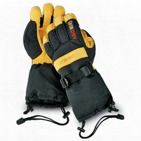 Guide Gear Men's Insulated Guide Dry Snowmobile Gloves