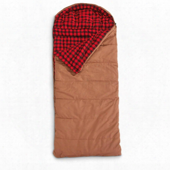 Guide Gear Rectangle Canvas  Sleeping Bag, -30 Degree