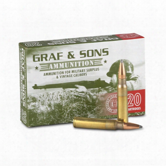 Hornady Custom 7.7x58 Jap, Sp, 150 Grain, 20 Rounds