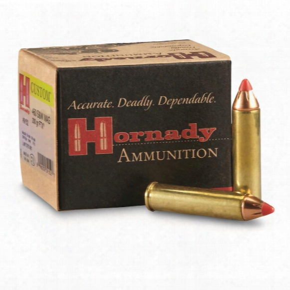 Hornady Leverevolution, .460 S&w Magnum, Ftx, 200 Grain, 20 Rounds