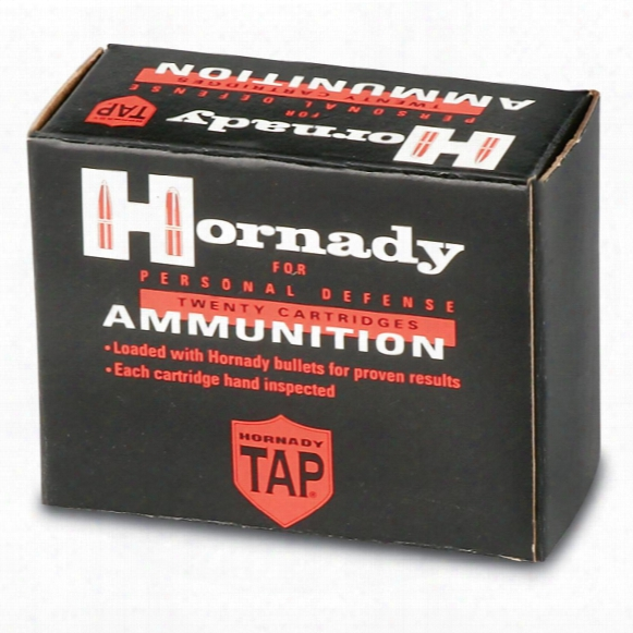 Hornady Tap Rifle .223 Rem. 55 Grain Tap - Fpd 20 Rounds