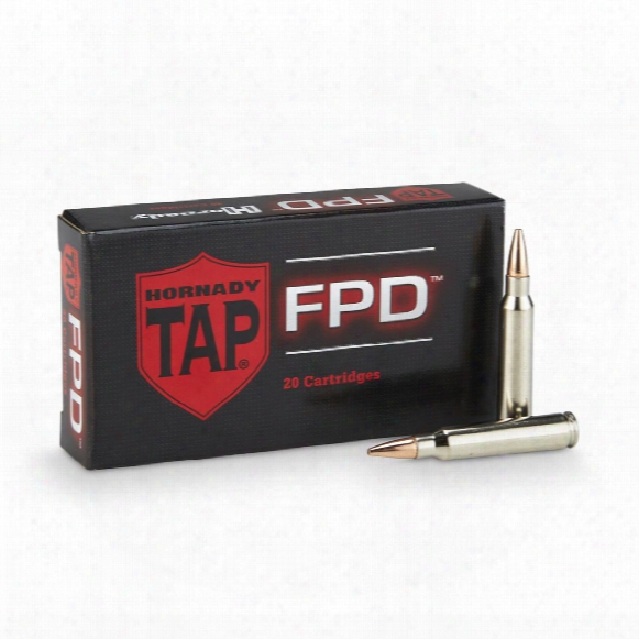 Hornady Tap Rifle .223 Rem. 75 Grain Tap-fpd 20 Rounds
