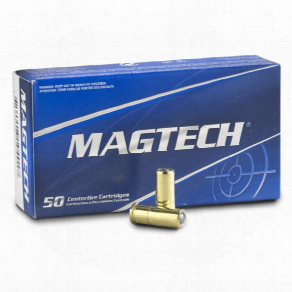 Magtech, .32 S&w Long, Lwc, 98 Grain, 50 Rounds