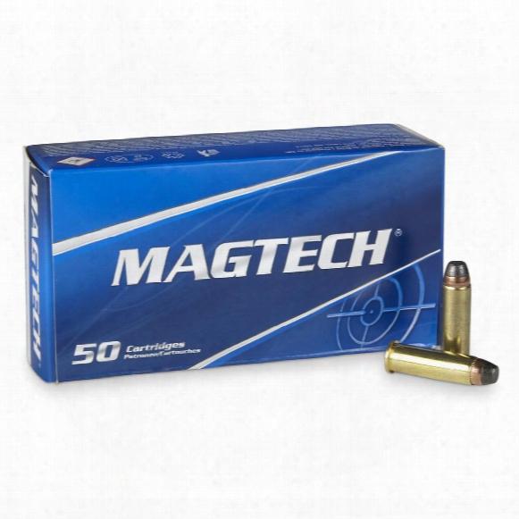 Magtech, .38 Special+p, Sjsp, 125 Grain, 50 Rounds
