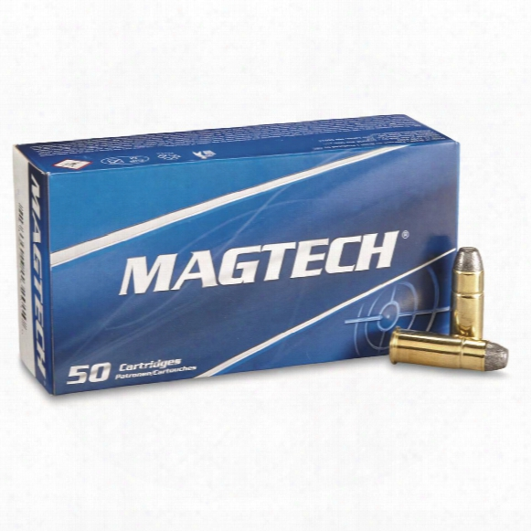 Magtech Cartridges, .44-40 Winchester, Lfn, 200 Grain, 50 Rounds
