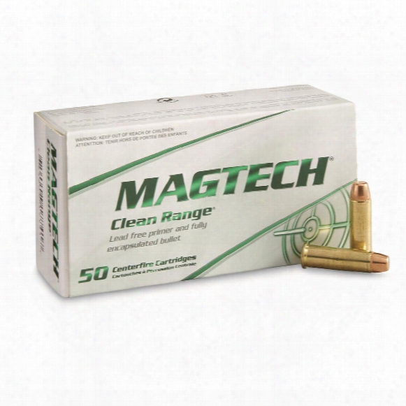 Magtech Clean Range, .38 Special, Feb, 158 Grain, 50 Rounds