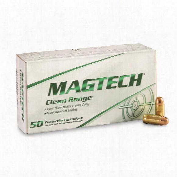 Magtech Clean Range, .380 Acp, Feb, 95 Grain, 50 Rounds