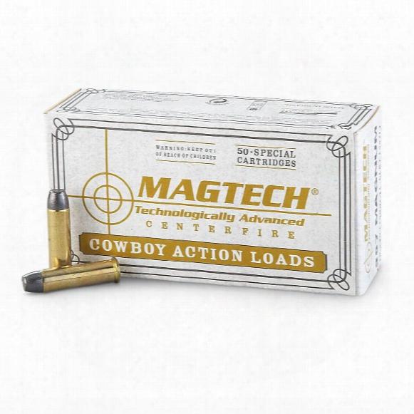 Magtech Cowboy Action Loads, .357 Magnum, Lfn, 158 Grain, 50 Rounds