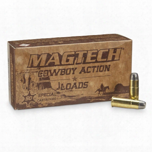 Magtech Cowboy Action Loads, .44-40 Winchester, Lfn, 225 Grain, 50 Rounds