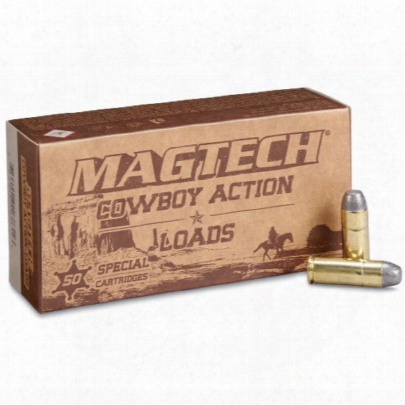 Magtech Cowboy Action Loads, .45 Colt, Lfn, 250 Grain, 50 Rounds
