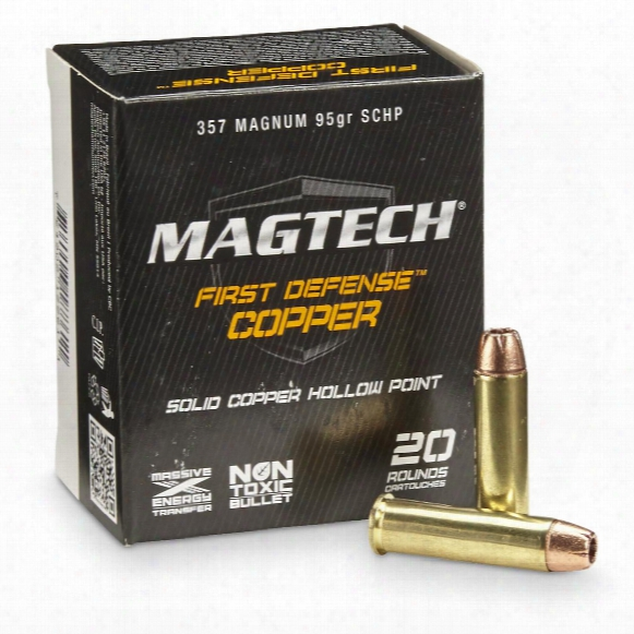 Magtech First Defense, .357 Magnum, 95 Grain, Schp, 20 Rounds