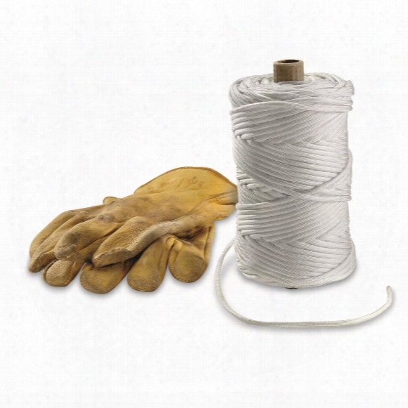 Military Style 550-lb. Tensile Paracord, 100 Yards, White