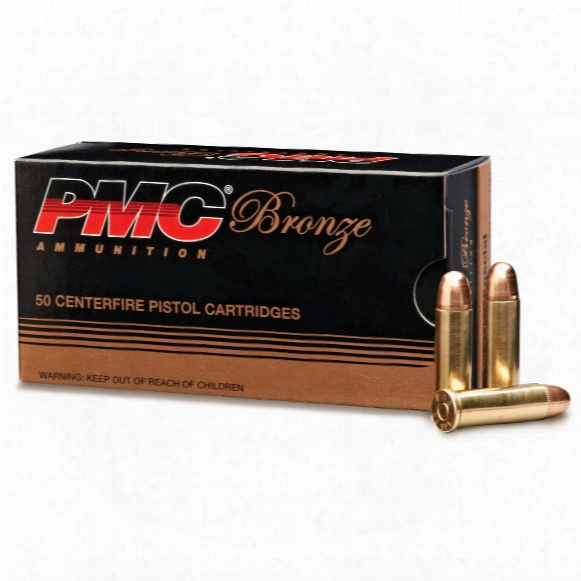 Pmc Bronze, .38 Special, Fmj, 132 Grain, 50 Rounds