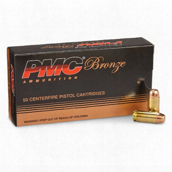 Pmc Bronze, .40 S&w, Fmj-fp, 165 Grain, 50 Rounds