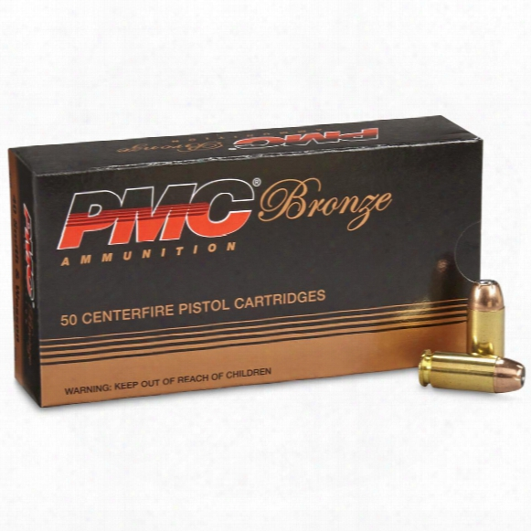 Pmc Bronze, .40 S&w, Jhp, 165 Grain, 50 Rounds