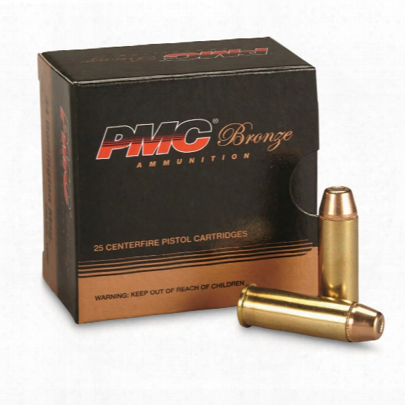 Pmc Bronze, .44 Remington Magnum, Tc-sp, 240 Grain, 25 Rounds