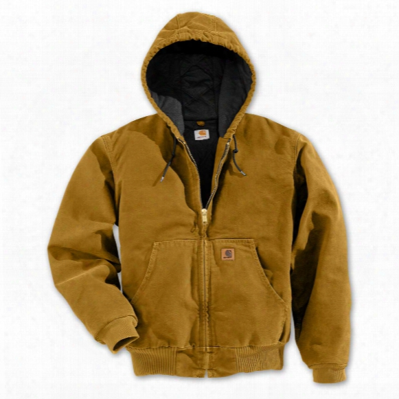 Regular Carhartt Quilted Flannel Lined Sandstone Active Jacket