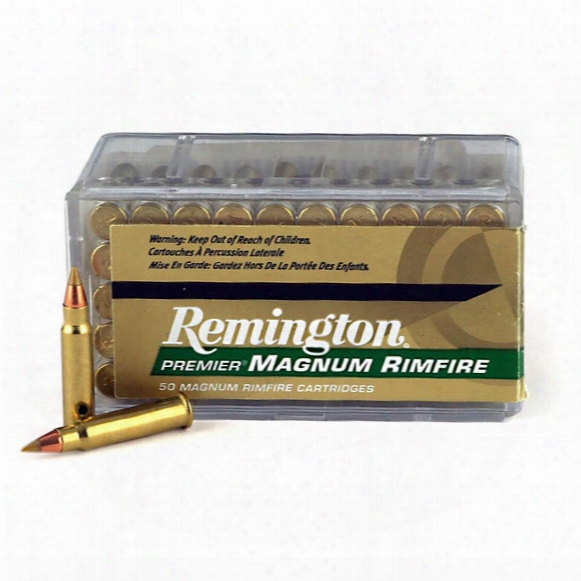 Remington, .17 Hmr, Hornady Boat Tail, 17 Grain, 50 Rounds