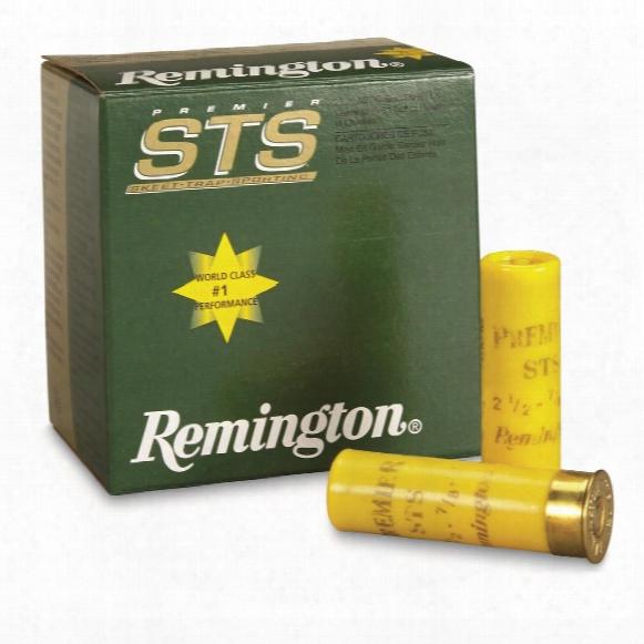 """Remington, 20 Gauge, Premier Sts Target Loads, 2 3/4"""" 7/8 Ozs. #9, 25 Rounds"""