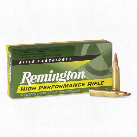 Remington, .22-.250 Rem., Psp, 55 Grain, 20 Rounds