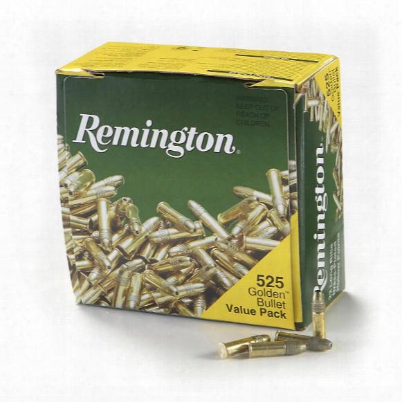 Remington, .22lr, Lead Round Nose Hollow Point, 36 Grain 525 Rounds
