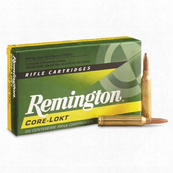 Remington, .264 Winchester Magnum, Psp Core-lokt, 140 Grain, 20 Rounds