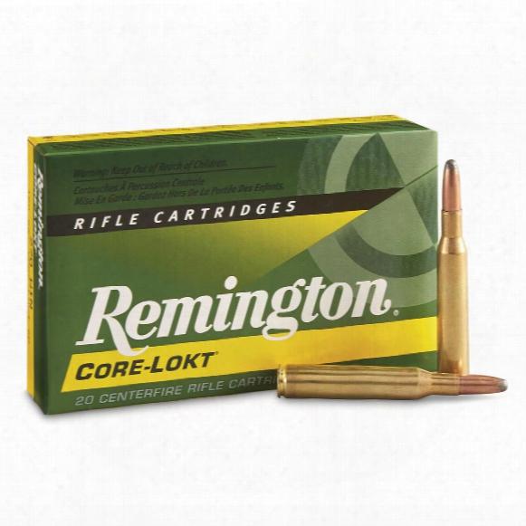 Remingotn, .270 Winchester, Sp Core-lokt, 150 Grain, 20 Rounds