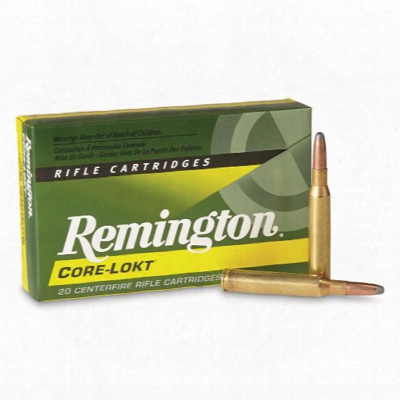 Remington .280 Remington, 165 Grain, Sp Core-lokt, 20 Rounds