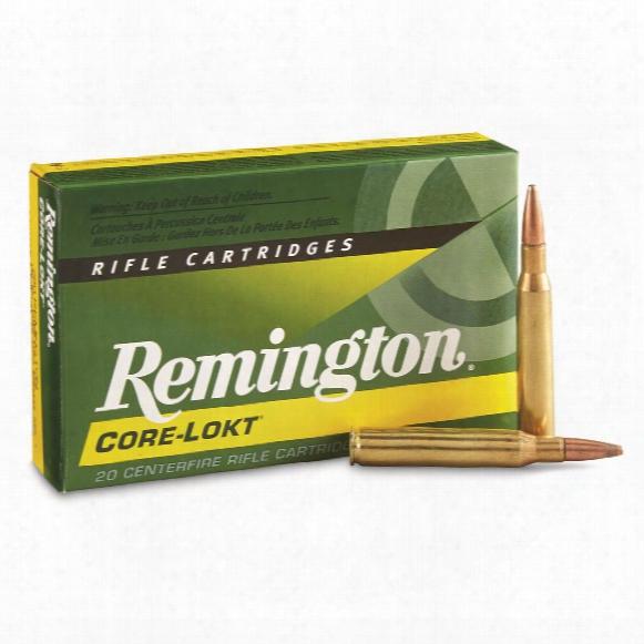 Remington, .280 Remington, Psp Core-lokt, 140 Grain, 20 Rounds