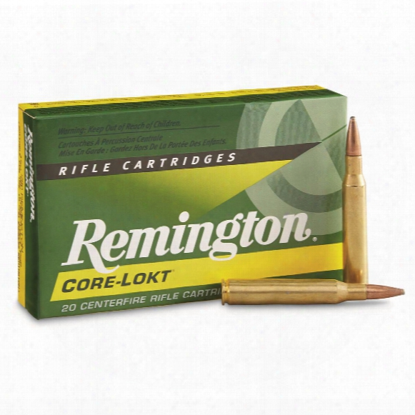 Remington, .280 Remington, Psp Core-lokt, 150 Grain, 20 Rounds