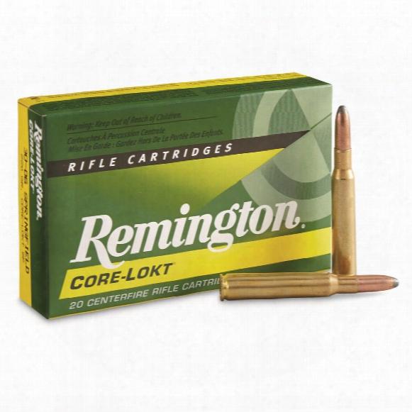 Remington, .30-06 Sprg., Sp Core-lokt, 220 Grain, 20 Rounds