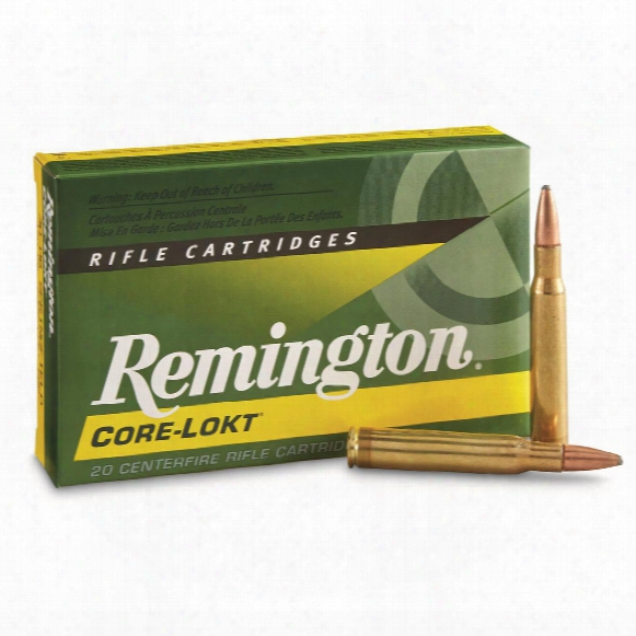 Remington, .30-06 Springfield, Psp Core-lokt, 150 Grain, 20 Rounds
