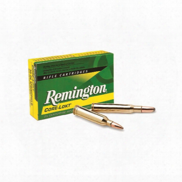 Remington .30-06 Springfield, Sp Core-lokt, 180 Grain, 20 Rounds