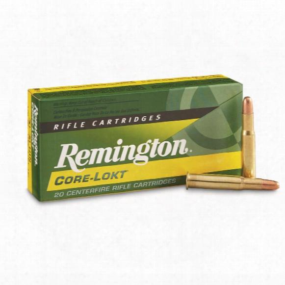 Remington, .30 - 30 Win., Hp Core-lokt, 170 Grain, 20 Rounds