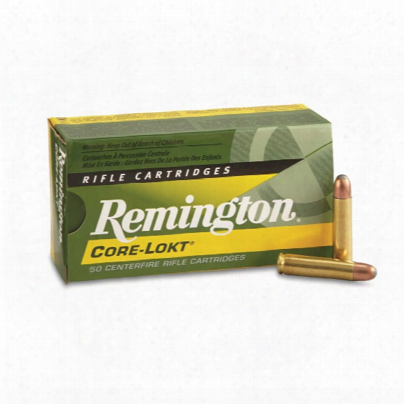 Remington, .30 Carbine, Sp Core-lokt, 110 Grain, 50 Rounds