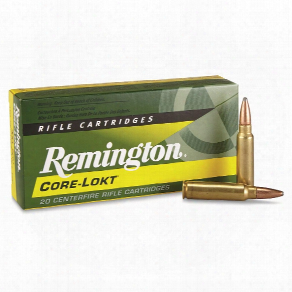 Remington, .300 Savage, Psp Core-lokt, 150 Grain, 20 Rounds
