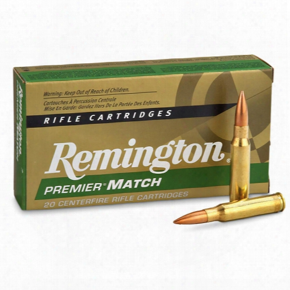 Remington, .308 Win., Mk-bthp, 168 Grain, 20 Rounds