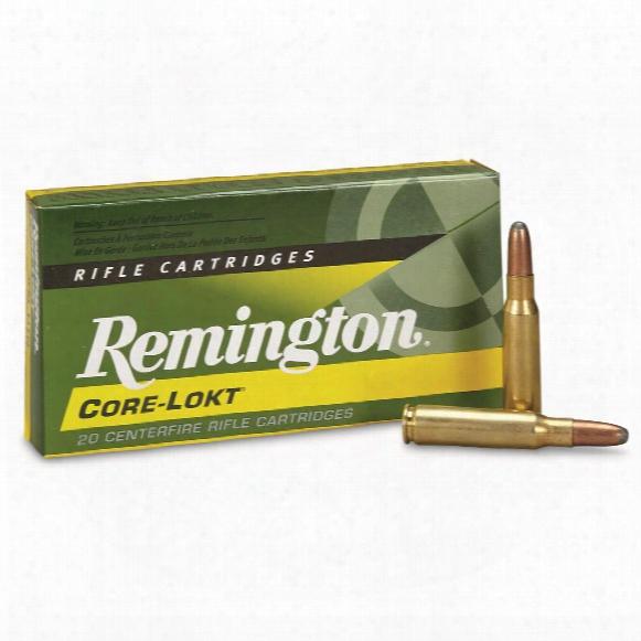 Remington .308 Winchester, Sp Core-lokt, 180 Grain, 20 Rounds