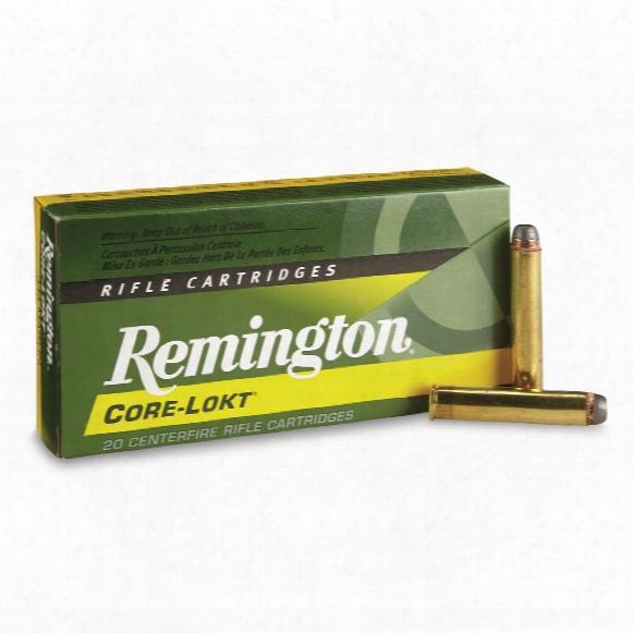 Remington, .444 Marlin, Sp Core-lokt, 240 Grain, 20 Rounds