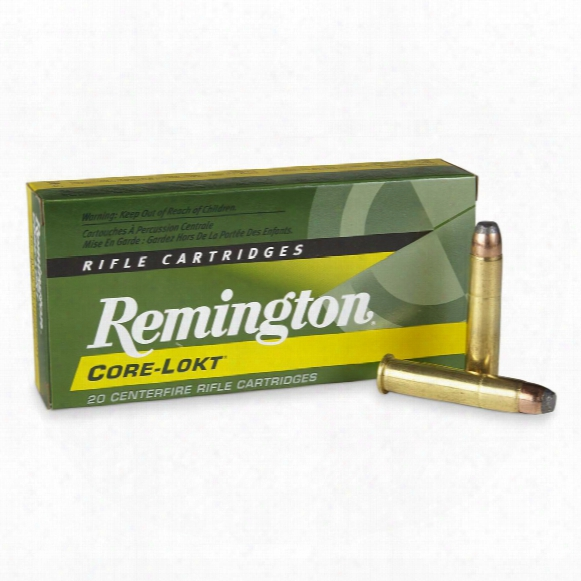 Remington, .45-70 Govt., Sp Core-lokt, 405 Grain, 20 Rounds
