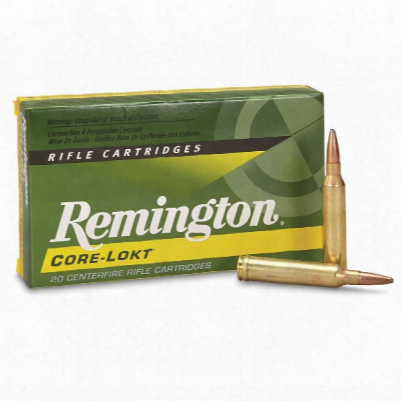 Remington, 7mm Remington Magnum, Psp Core-lokt, 150 Grain, 20 Rounds