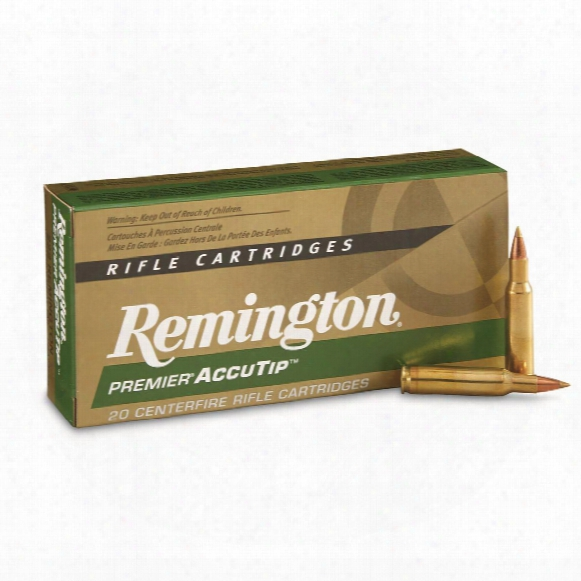 Remington Accutip, .222 Remington, At-v-bt, 50 Grain, 20 Rounds