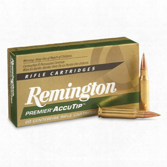 Remington Accutip, .308 Win., At-bt, 165 Grain, 20 Rounds
