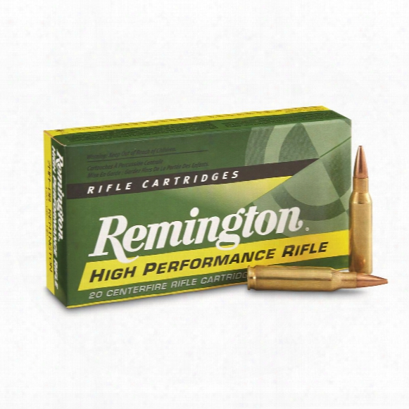 Remington Centerfire Rifle, 7mm-.08 Remington, Hp, 120 Grain, 20 Rounds