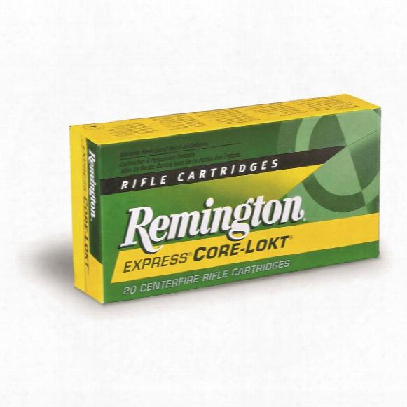 Remington Centerfire Rifle 7mm S.a.v.m. 150 Grain Psp Core-lookt 20 Rounds