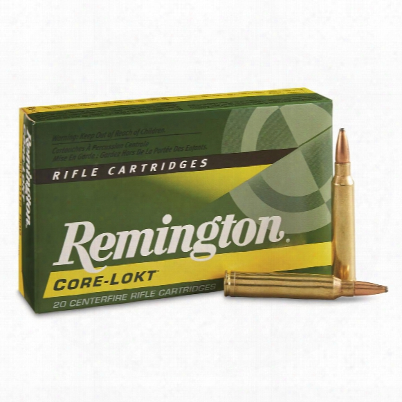 Remington Core-lokt, .300 Winchester Magnum, Psp Core-lokt, 180 Grain, 20 Rounds