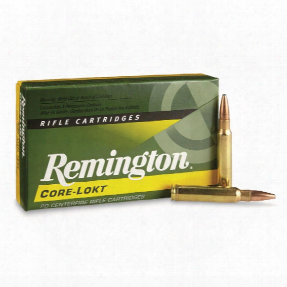 Remington Core-lokt, .338 Winchester Magnum, Psp Core-lokt, 250 Grain, 20 Roinds